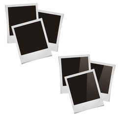 six square pictures with shadows image for premises, matte, glos
