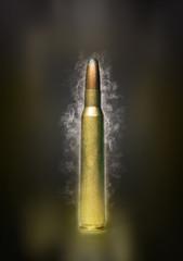 bullet smoke