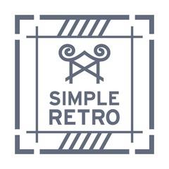 Simple Retro Logo Template