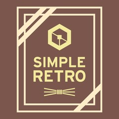 Simple Retro Logo Template