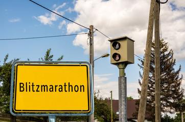 Ortstafel Blitzmarathon 02