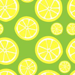 Seamless lemons