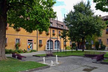 Erwin-Vornberger-Platz mit Rathaus Veitshöchheim