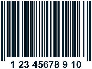 Vector barcode illustration