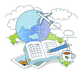 Illustration of holiday