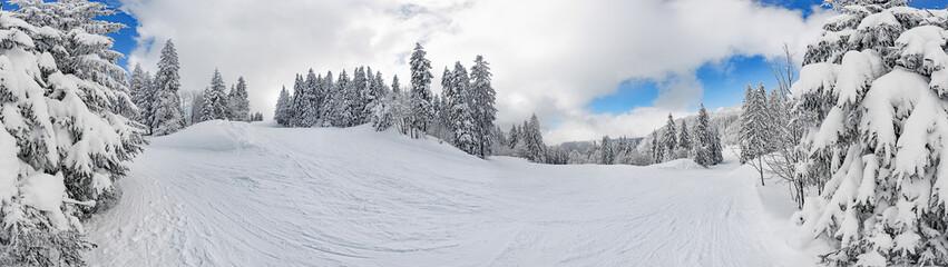 Skipiste Feldberg im Schwarzwald volle 360°