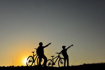 bisiklet ile rota seçimleri