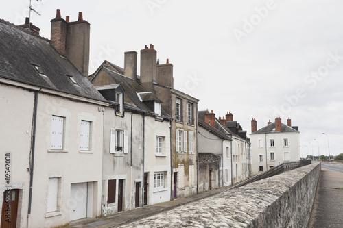 france blois view of residential houses at loir et cher photo libre de droits sur la banque d. Black Bedroom Furniture Sets. Home Design Ideas