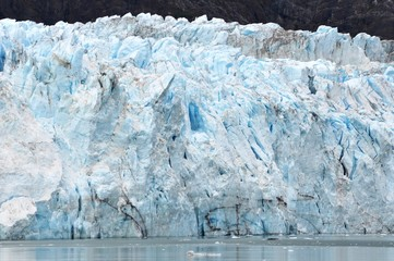 Photo sur Plexiglas Glaciers glacier wall