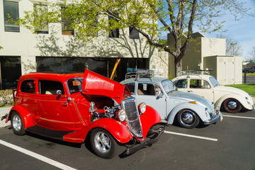 Wall Mural - Classic Cars