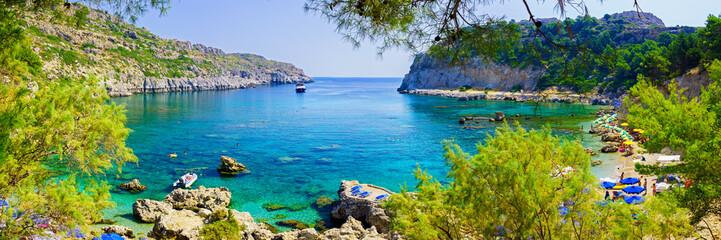 Obraz Anthony Quinn Bay Rhodes Greece - fototapety do salonu