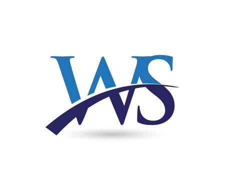 WS Logo Letter Swoosh