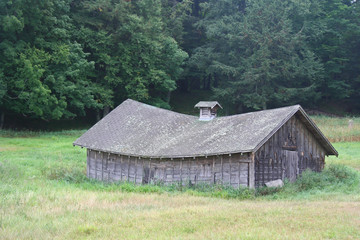 Sagging, Abandoned Hay Barn