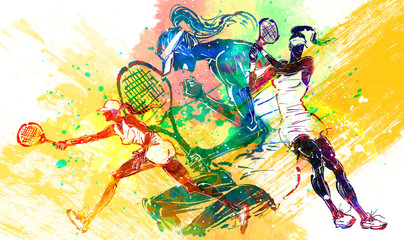 Illustration of sports