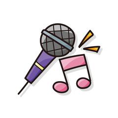 microphone doodle