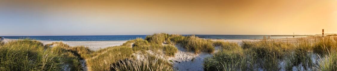Fototapete - Helgoland BAdeinsel Panorama