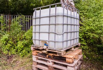 Baustelle Wassertank 01