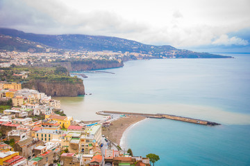 The Amalfi Coast, in Campania, Italy