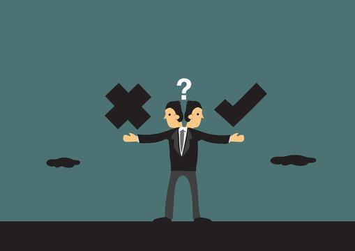 Business Ethics Conceptual Vector Illustration