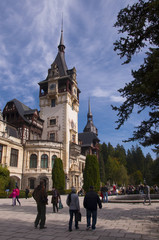 Peles Castle – October 05, 2014 at Sinaia, Romania