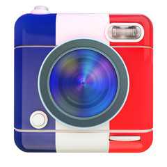 Camera icon French