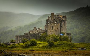 Eilean Donan Castle/ Dornie Schottland Highlands