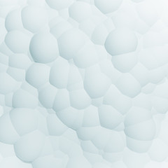 Abstract white sphere pattern background