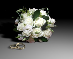 bouquets e ring