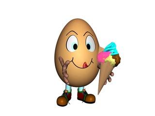 Uovo con Gelato