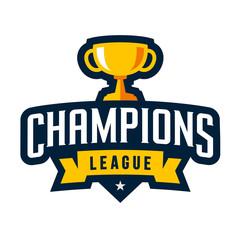 Sports champions emblem