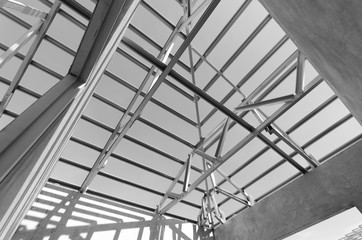 Steel Roof Black and White-07