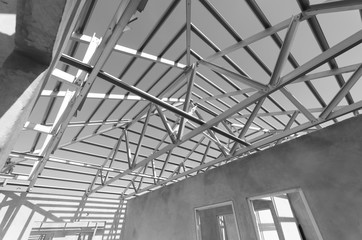 Steel Roof Black and White-11