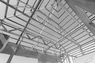 Steel Roof Black and White-14