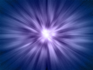 Star gate blue moving at light speed illustration background.