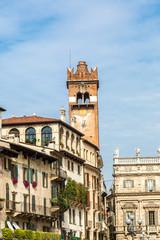 Gardello tower in Verona, Italy