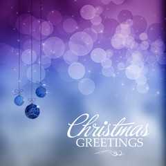 Colorfull Christmas greeting background