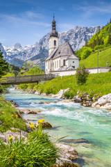 Wall Mural - Ramsau, Berchtesgadener Land, Bavaria, Germany