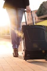 Departure on holidays
