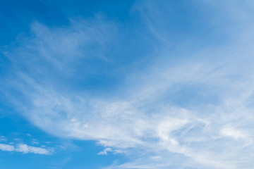 image of blue clear sky for background usage.