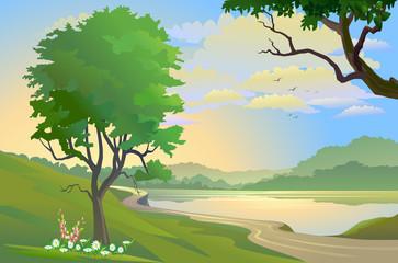 Dawn at wonderland