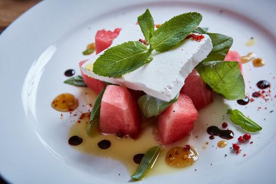 Healthy Watermelon Salad