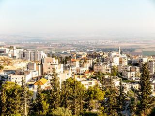 Arab village near Nazareth, Lower Galilee