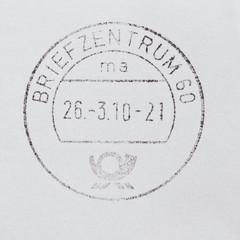 Postage meter