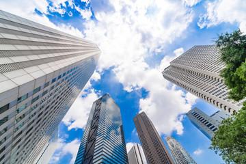 東京 西新宿 高層ビル群