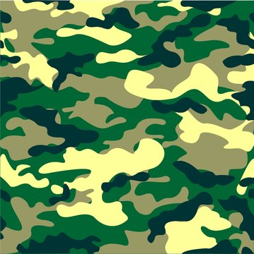 Camouflage background pattern