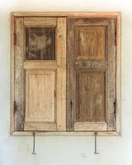 Vintage Style Wooden Window.