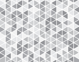 Abstract triangle background with round corners