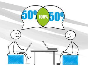 100%,teamarbeit,teamwork