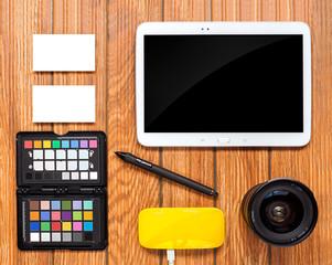 Photographer corporate identity