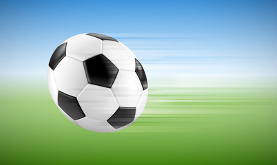 Ballon de football vectoriel 4